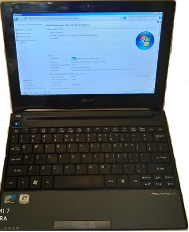 ACER ASPIRE ONE PAV70 Windows 7 - sprawny