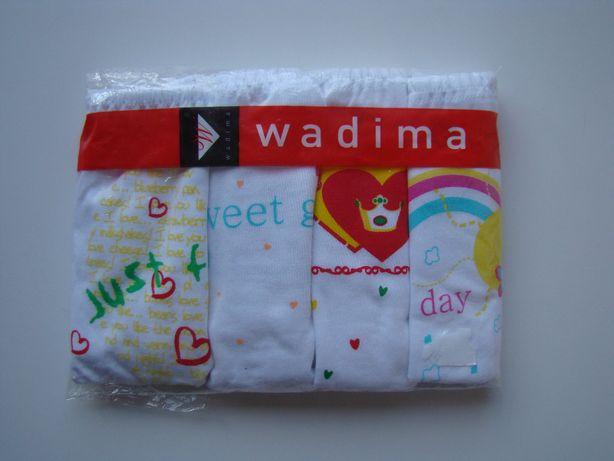 NOWE Majtki majteczki dziewczęce firmy WADIMA rozm.122