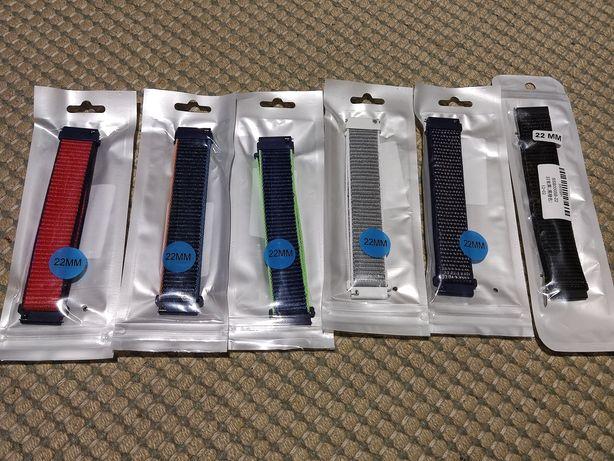 Braceletes para smartwatch   Velcro, Metal e Couro - 22mm