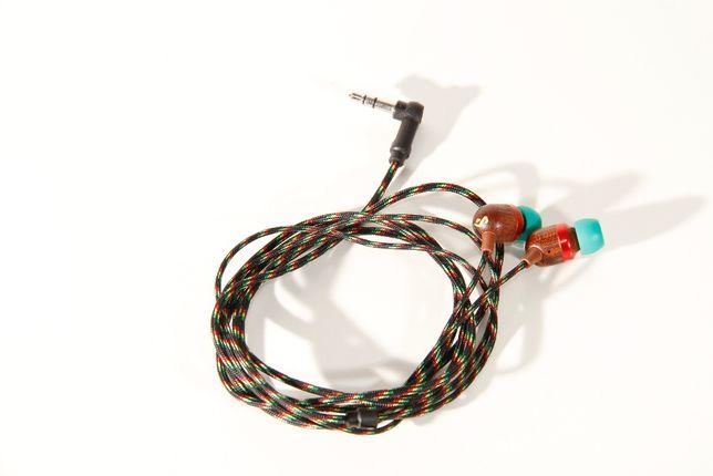 Słuchawki drewno dokanałowe Marley Smile Jamaica Earbuds EM-JE041-RA