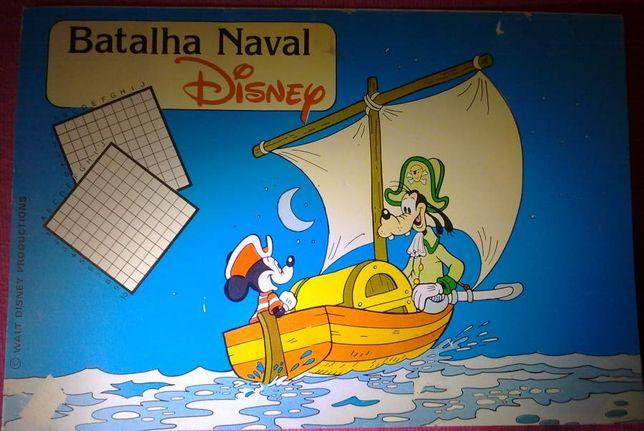 Livro Batalha Naval Disney