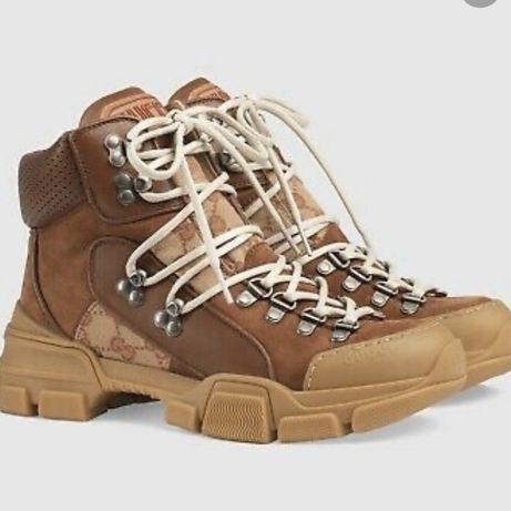 Gucci sneakersy trapery