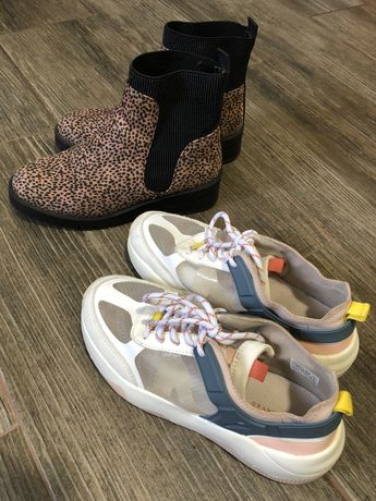 Ботинки кроссовки 34 размер
