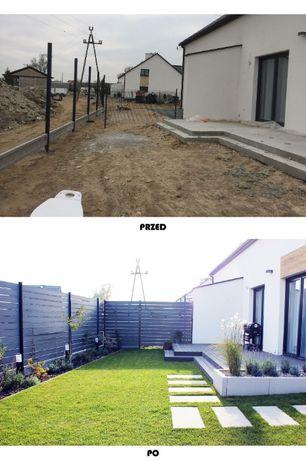 Usługi ogrodnicze, projektowanie ogrodów, nawadnianie ogrodów - Żnin