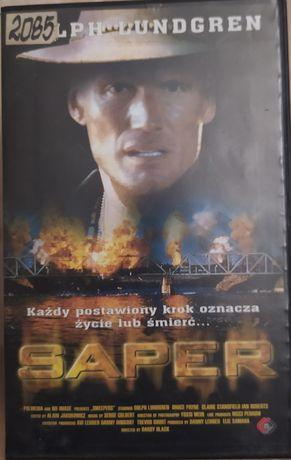 SAPER !!! Dolph Lundgren !!! Kaseta VHS video !!!
