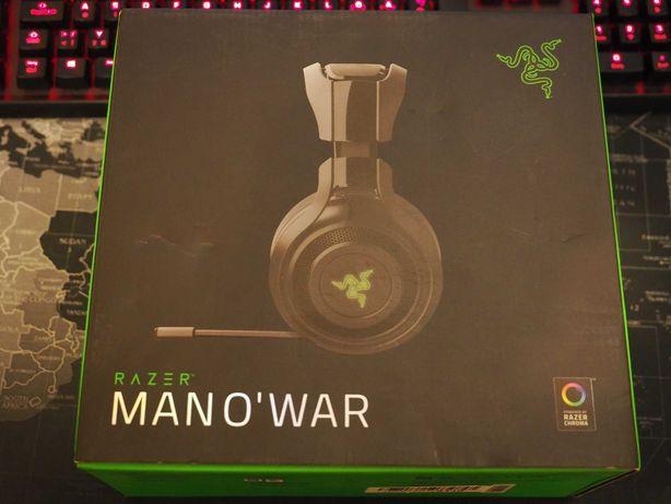 Наушники игровые беспроводные Razer Man O'War/Asus ROG Strix Wireless
