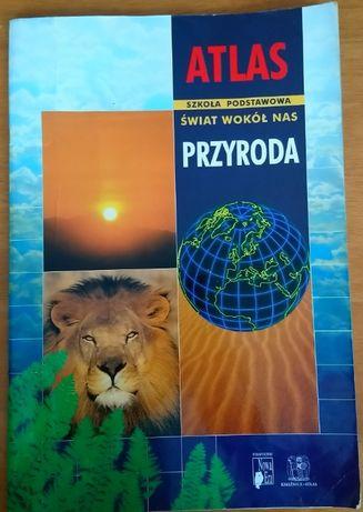 Atlas świat wokół nas, przyroda, szkoła podstawowa, nowa era