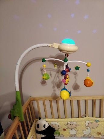 Karuzela do łóżeczka z projektorem