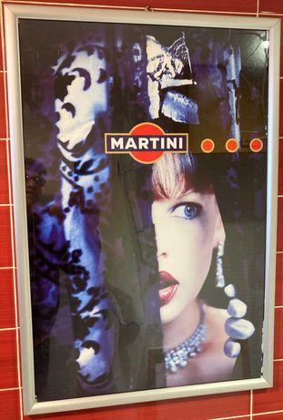 Martini publicidade antiga 70X48 cm
