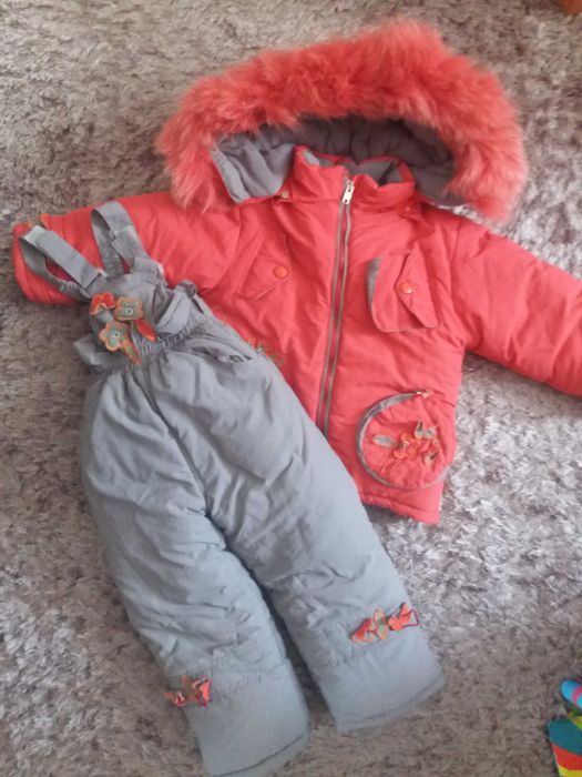 Зимовий комбінзон на дівчинку 3-4 роки Староконстантинов - изображение 1