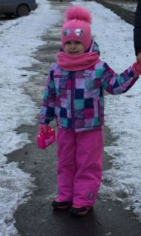 Зимний термо комбинезон Brugi на 2-4 года