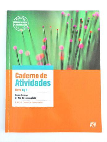 Caderno de atividades - Novo FQ 8 - Físico-Química