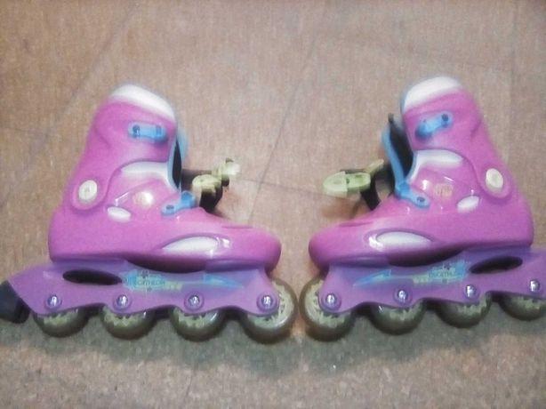 Vendo patins em linha e acessórios