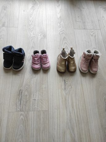 Buty/buciki adidas/hm 22, 23, 23.5, 24 dziewczęce