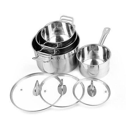 """Набор посуды CS Solingen """"Herten"""" состоит из 7 предметов"""