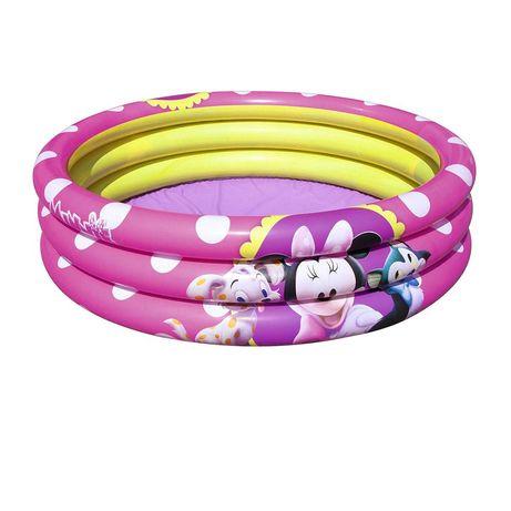 Детский надувной бассейн Bestway 91060 «Минни Маус», 102х 25см