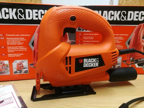 Wyrzynarka Black&Decker Ks600e Nowa, nożyki gratis. Koniec serii!