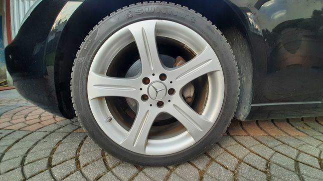 Felgi 18 Mercedes CLS + opony zimowe 5x112