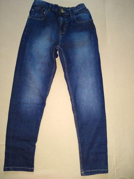 Spodnie chłopięce jeansy rozm. 152-158