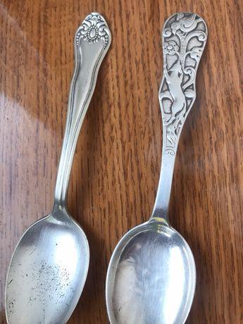 Серебро ложки антиквариат