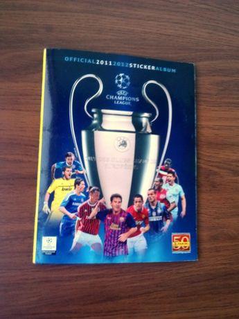 Panini. Champions League 2011-12. Почти полный альбом.
