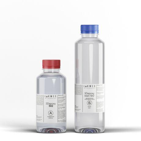 Эпоксидная смола средней вязкости для Resin Art 3Depoxy 502 (1,5 кг.)