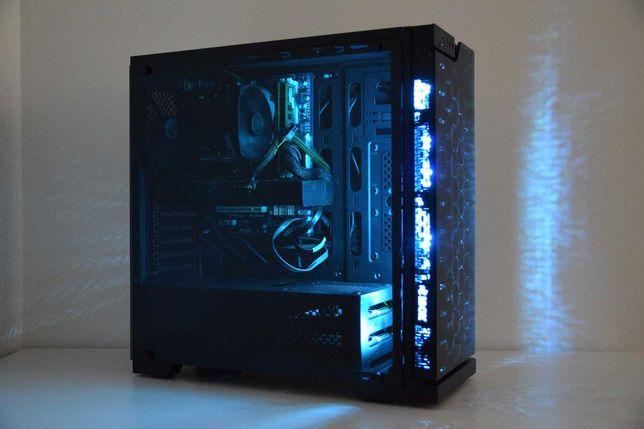 GWARA! RTX 2070 i5 10600K Fortnite CS GO Witcher PUBG GTA 5 komputer