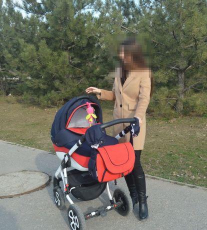 Продам детскую коляску Adamex Erika 2в1