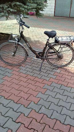 rower elektryczny aluminiowy