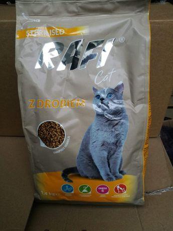 Karma sucha Dolina Noteci dla kota drób,łosoś,opakowanie 1.4k