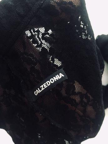 Caldezonia nowe rajstopy koronkowe