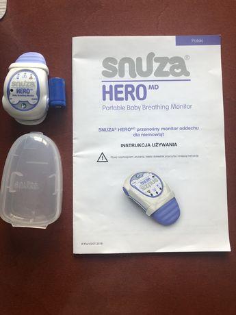 Monitor oddechu dla niemowląt - Snuza hero