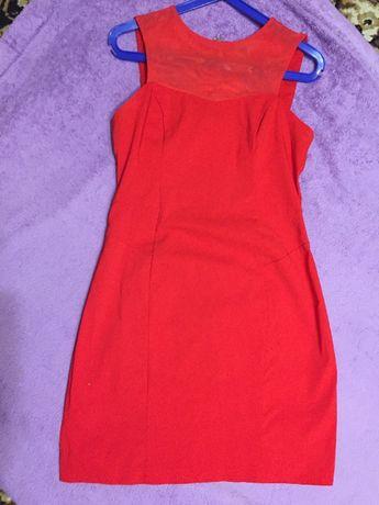 Вечернее платье.Вечірня сукня червоно кольору.Размер 42-46