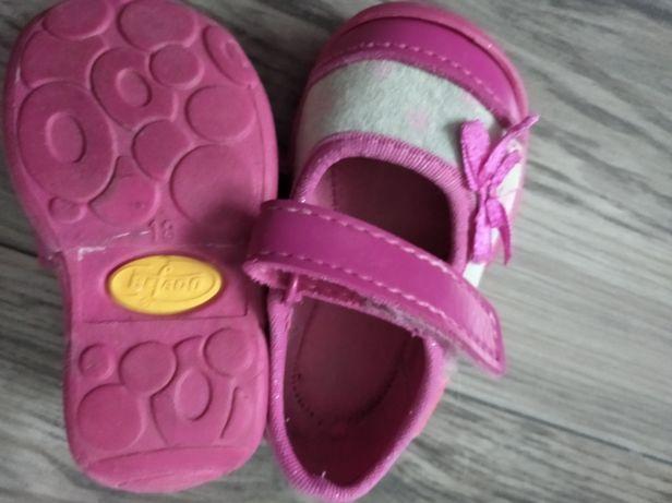 Buciki różowo siwe