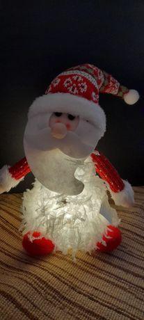 Pai Natal com luzes led NOVO