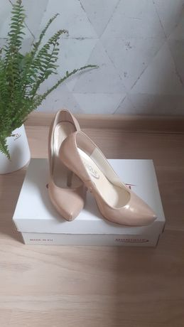 Złote buty rozmiar 34