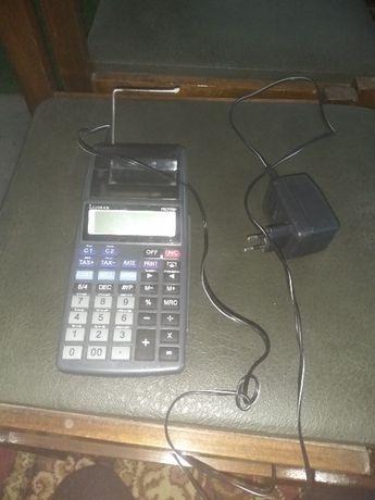 Calculadora elétrica pequena