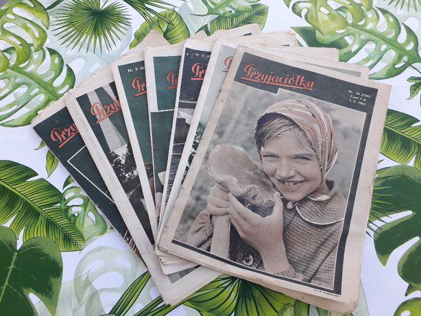 Czasopismo PRZYJACIÓŁKA z PRLu lata 50-60te
