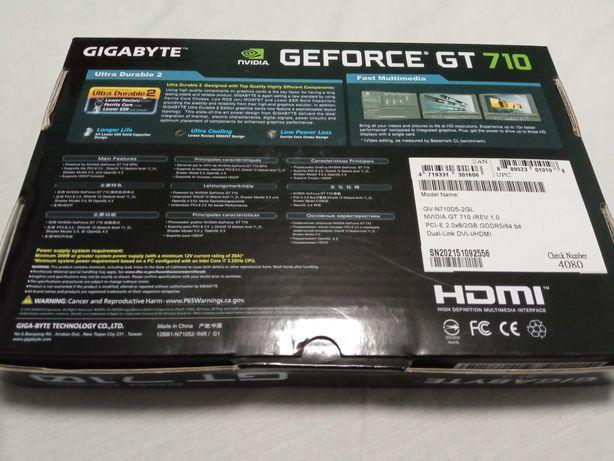 Gigabyte GeForce GT 710 2GB DDR5