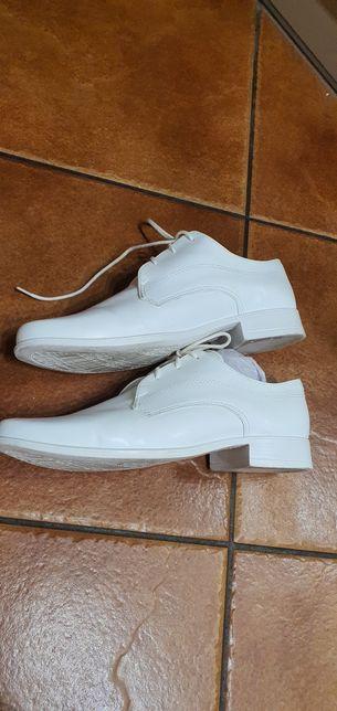 Białe Buty roz. 34 Komunia