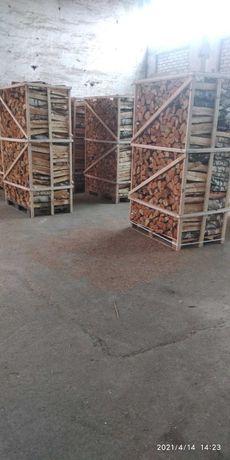 Колотые дрова береза. 2800.0 грн за 2 складометра.