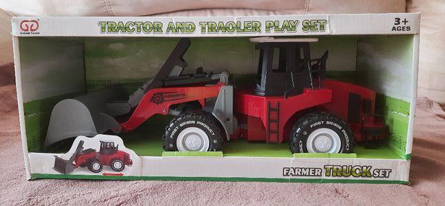 Машинка трактор