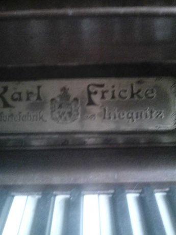 Pianino   rok 1880 antyk