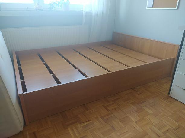 Łóżko 140x200, kolor olcha, stan idealny