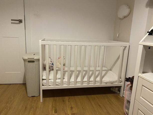 Łóżeczko Sundvik Ikea - bez dwóch szczebelków