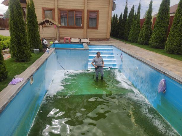 Запуск бассейна,Сервисное обслуживание басейнов,установка оборудование