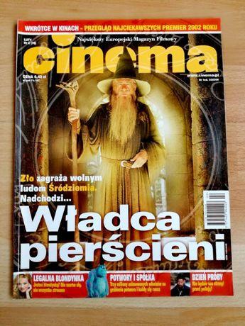 magazyn CINEMA, luty 2002, Władca Pierścieni