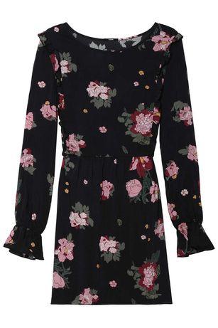 Vestidos preto e c/rosas