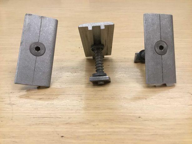 Klema środkowa mocowanie paneli Fotowoltaicznych