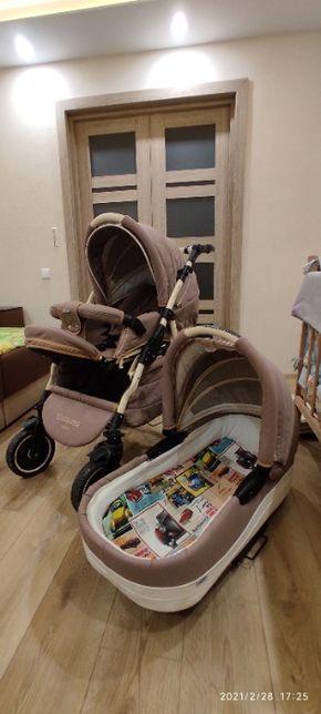 Детская коляска Adamex Enduro 2 в 1 + дождевик + москитная сетка